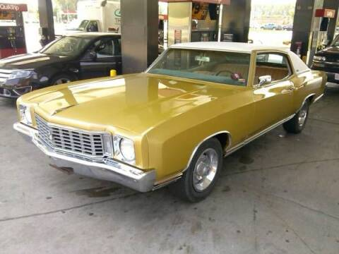 1972 Chevrolet Monte Carlo for sale at Haggle Me Classics in Hobart IN