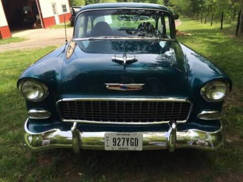 1955 Chevrolet Bel Air for sale at Haggle Me Classics in Hobart IN