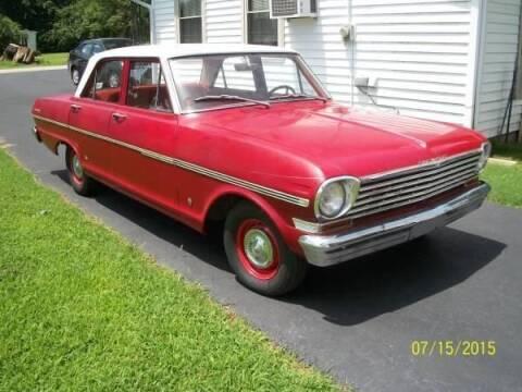 1963 Chevrolet Nova for sale at Haggle Me Classics in Hobart IN
