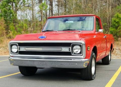 1970 Chevrolet C/K 10 Series for sale at Haggle Me Classics in Hobart IN