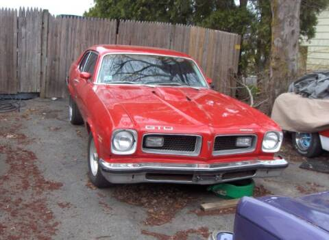 1974 Pontiac GTO for sale at Haggle Me Classics in Hobart IN