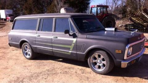 1969 Chevrolet Suburban for sale at Haggle Me Classics in Hobart IN