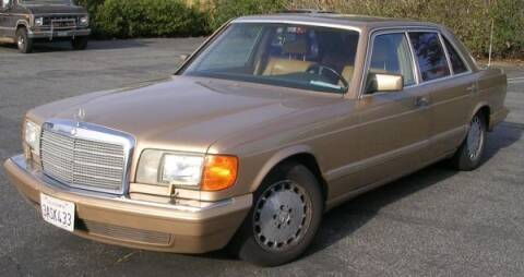 1987 Mercedes-Benz 550SEL for sale at Haggle Me Classics in Hobart IN