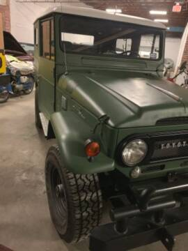 1966 Toyota Land Cruiser for sale at Haggle Me Classics in Hobart IN
