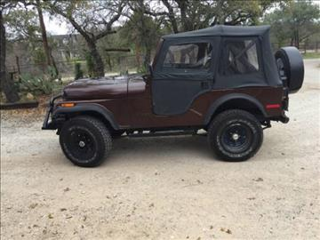1977 Jeep CJ-5 for sale in Hobart, IN