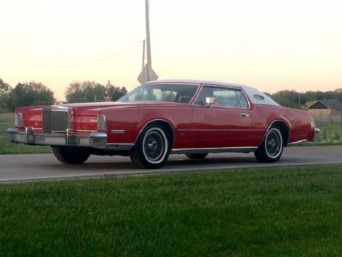 1975 Lincoln Continental for sale at Haggle Me Classics in Hobart IN