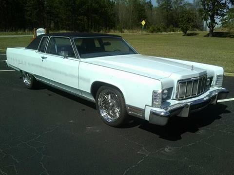 1976 Lincoln Town Car For Sale Carsforsale Com