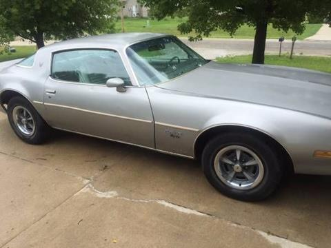 Pontiac Firebird For Sale  Carsforsalecom