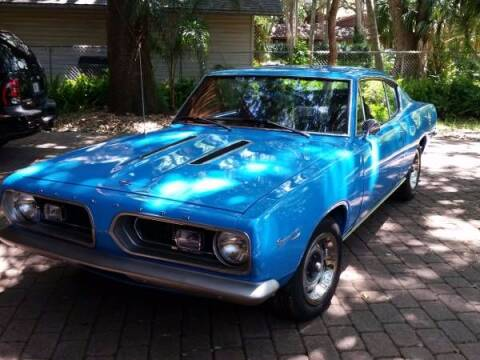 1967 Plymouth Barracuda for sale at Haggle Me Classics in Hobart IN