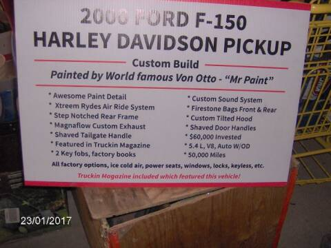 2000 Ford F-150 for sale at Haggle Me Classics in Hobart IN