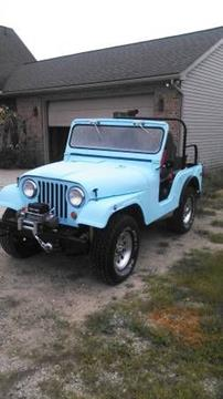 1956 Willys CJ-5 for sale in Hobart, IN