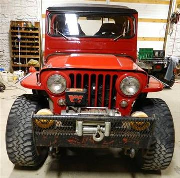 1948 Willys Jeep for sale in Hobart, IN