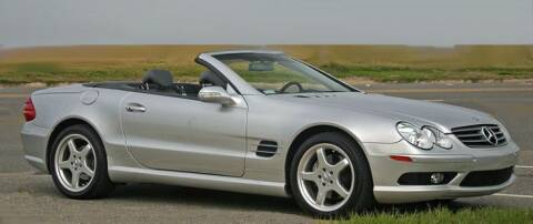 2004 Mercedes-Benz SL-Class for sale at Haggle Me Classics in Hobart IN