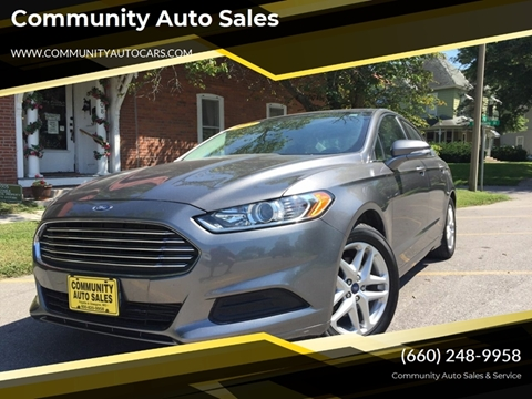 2013 Ford Fusion for sale in Fayette, MO