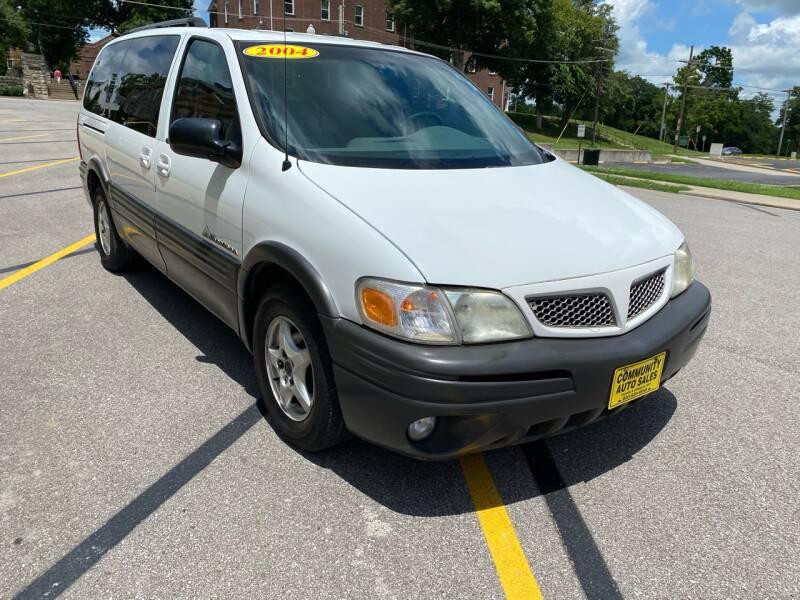 2004 Pontiac Montana Fwd 4dr Extended Mini-Van - Fayette MO