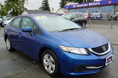 2015 Honda Civic for sale in Tacoma, WA