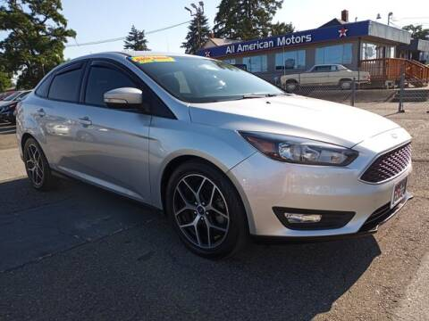 2017 Ford Focus for sale at All American Motors in Tacoma WA