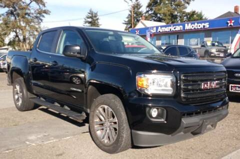 2015 GMC Canyon for sale at All American Motors in Tacoma WA