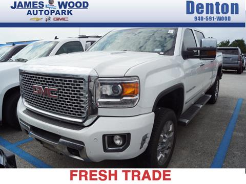2016 gmc sierra 2500hd for sale in texas. Black Bedroom Furniture Sets. Home Design Ideas
