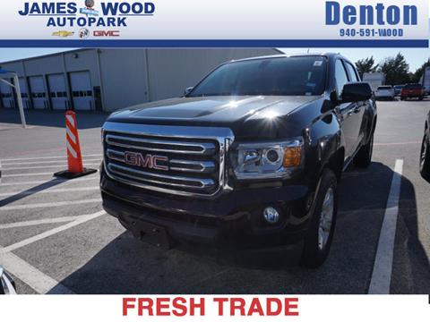 2015 GMC Canyon for sale in Denton, TX