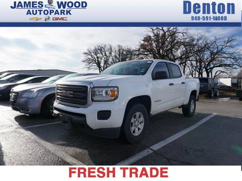 2016 GMC Canyon for sale in Denton, TX