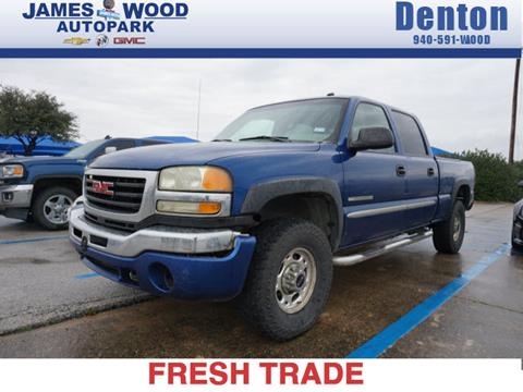 2003 GMC Sierra 2500HD for sale in Denton, TX