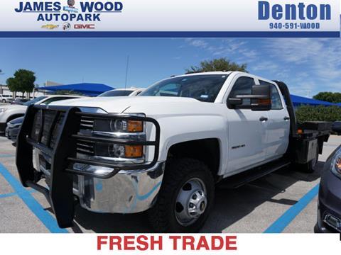 2015 Chevrolet Silverado 3500HD CC for sale in Denton, TX