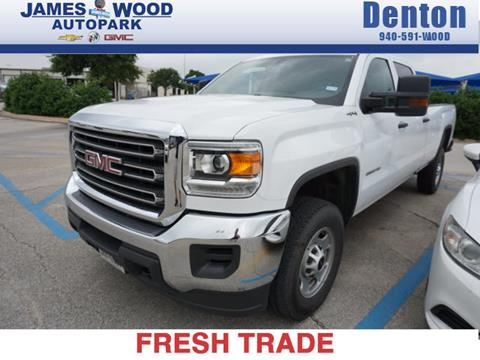 2017 GMC Sierra 2500HD for sale in Denton, TX