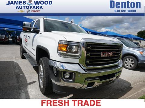 2016 GMC Sierra 2500HD for sale in Denton, TX