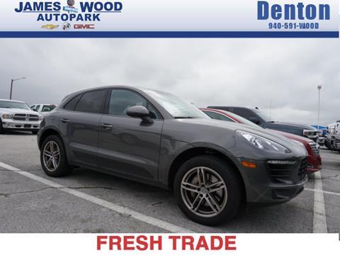 2016 Porsche Macan for sale in Denton, TX