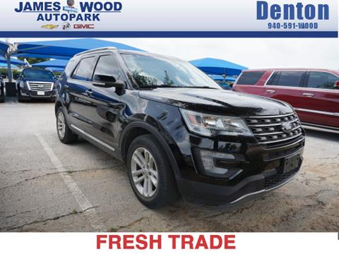 2016 Ford Explorer for sale in Denton, TX