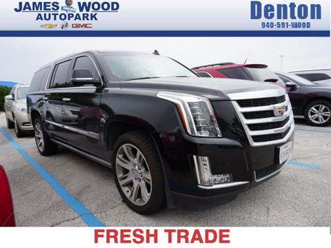 Used Cadillac Escalade For Sale In Denton Tx