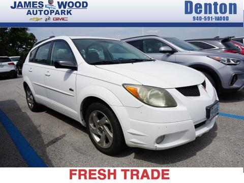 2004 Pontiac Vibe for sale in Denton, TX