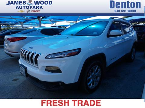 2016 Jeep Cherokee for sale in Denton, TX