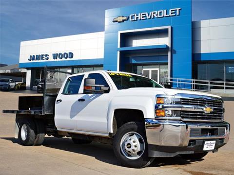 2017 Chevrolet Silverado 3500HD CC for sale in Denton, TX