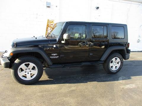 2010 Jeep Wrangler Unlimited for sale in Crystal Lake, IL