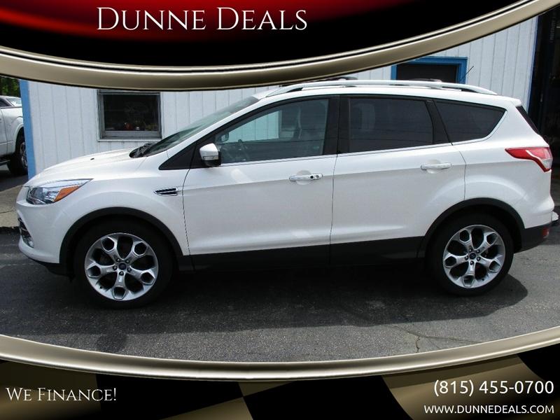 2014 Ford Escape Tires >> 2014 Ford Escape Awd Titanium 4dr Suv In Crystal Lake Il