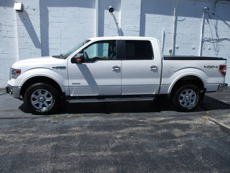 2014 Ford F-150 4x4 Lariat 4dr SuperCrew Styleside 6.5 ft. SB - Crystal Lake IL