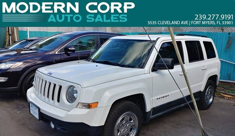 2011 Jeep Patriot for sale at Modern Auto Sales in Fort Myers FL