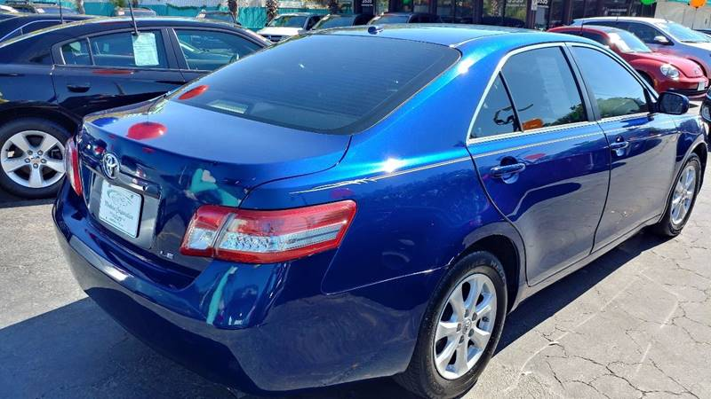 2011 Toyota Camry LE 4dr Sedan 6A - Fort Myers FL
