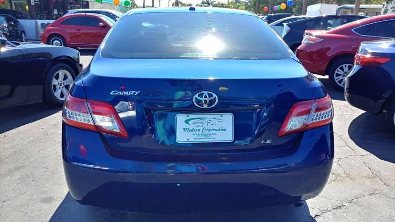 2011 Toyota Camry for sale at Modern Auto Sales in Fort Myers FL