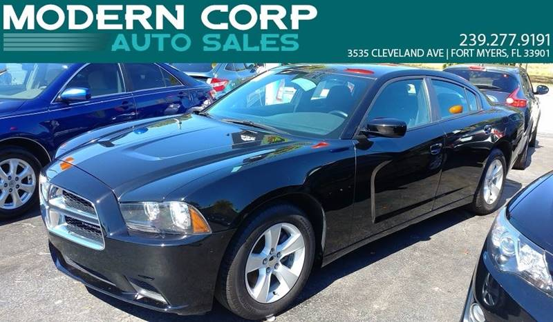2013 Dodge Charger for sale at Modern Auto Sales in Fort Myers FL