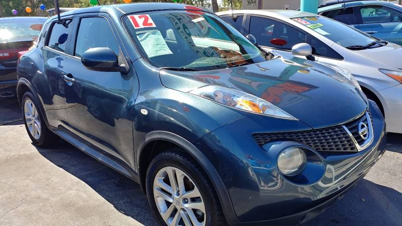 2012 Nissan JUKE for sale at Modern Auto Sales in Fort Myers FL