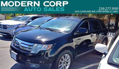 2009 Ford Edge for sale at Modern Auto Sales in Fort Myers FL