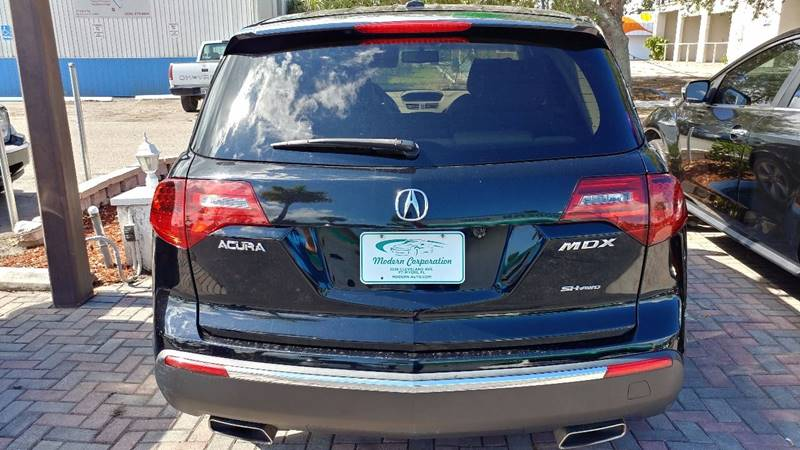 2011 Acura MDX for sale at Modern Auto Sales in Fort Myers FL