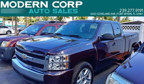 2008 Chevrolet Silverado 1500 for sale at Modern Auto Sales in Fort Myers FL