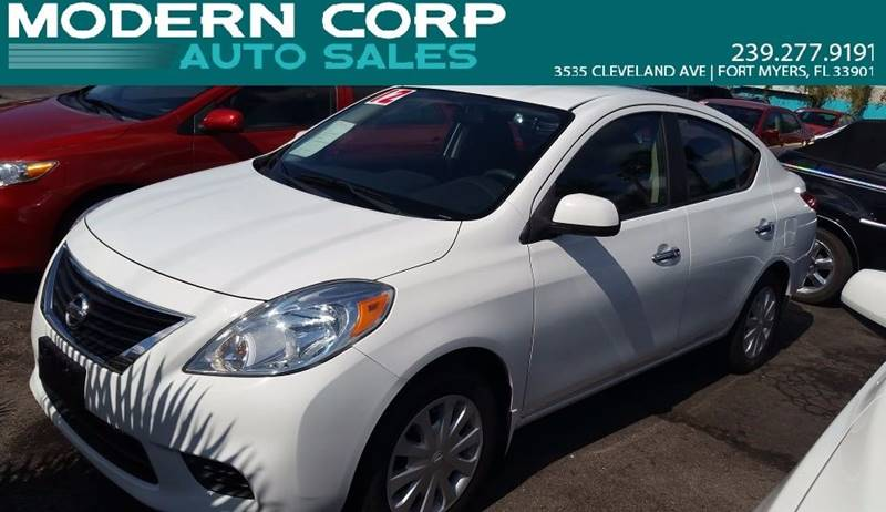 2012 Nissan Versa for sale at Modern Auto Sales in Fort Myers FL