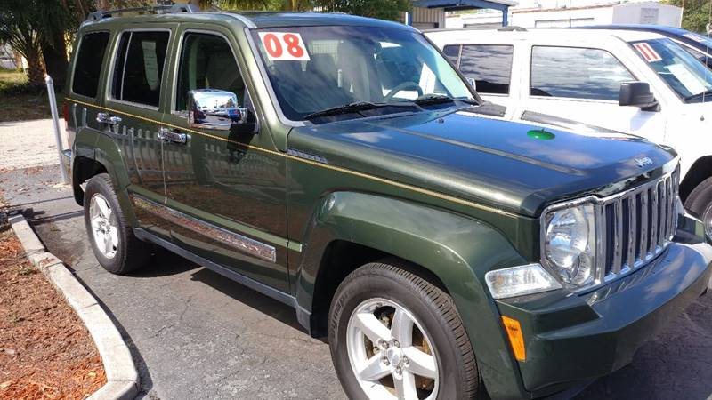 2008 Jeep Liberty for sale at Modern Auto Sales in Fort Myers FL
