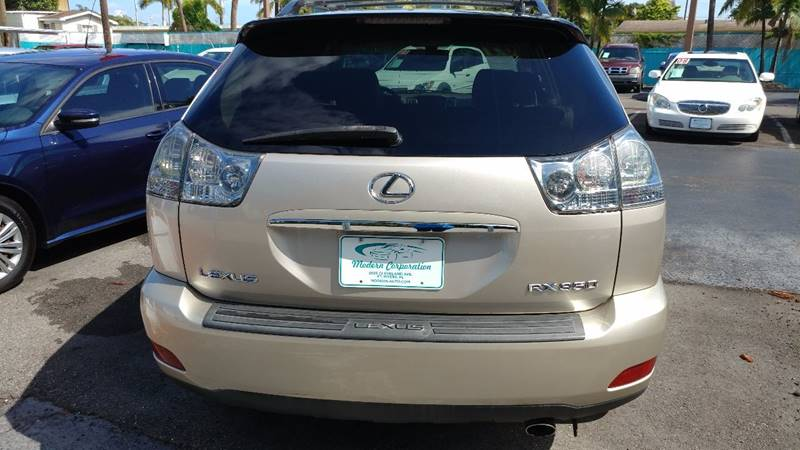 2007 Lexus RX 350 for sale at Modern Auto Sales in Fort Myers FL