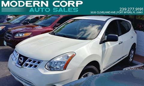 2011 Nissan Rogue for sale at Modern Auto Sales in Fort Myers FL